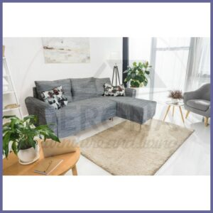 A functional and stylish Corner Sofa Bed Wood Legs – ITAKA