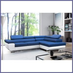 Comfortable and luxurious Soprano Corner Sofa Bed